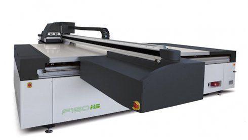 Q-series UV tem oito canais de tinta