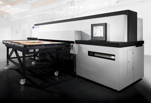 Durst Delta WT 250 estampa, em alta produtividade, embalagens e displays
