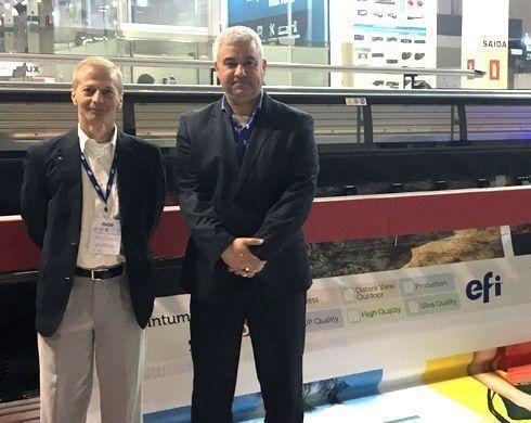 InfoSign entrevistou Marcel Casarino, gerente de desenvolvimento de vendas, e Ermande Ramos, diretor de vendas da América Latina, ambos da EFI
