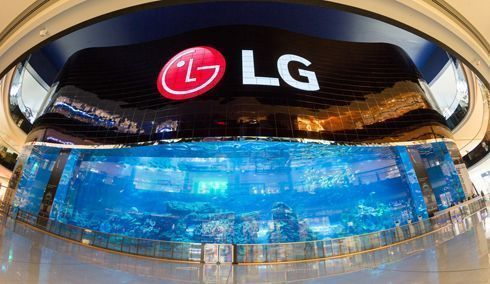 Display foi instalado no Aquário de Dubai