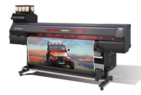 Com 1,6m de largura, impressora também emprega tinta branca