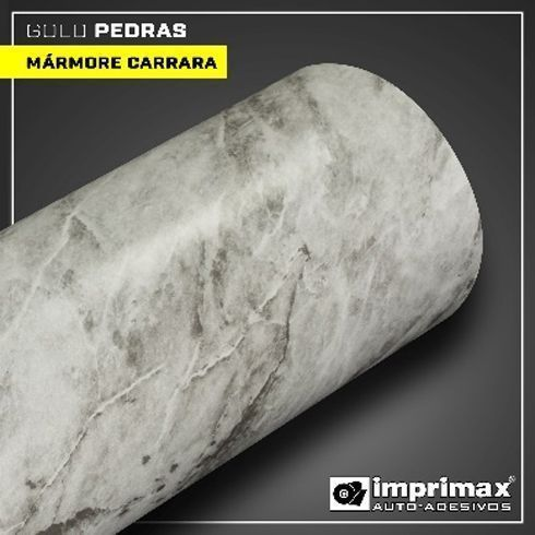 Gold Pedras tem acabamento de mármore carrara