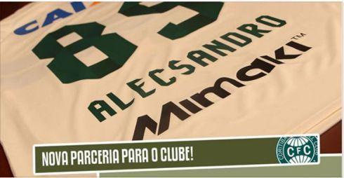 Impressora Mimaki será utilizada para estampar camisas dos jogadores do clube