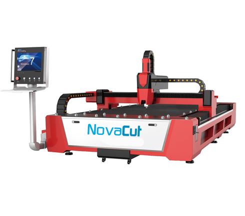 Novacut Laser F3015 oferece movimentação precisa do eixo do laser