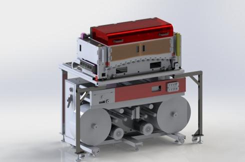 C324PA pode ser integrado a sistemas flexográficos
