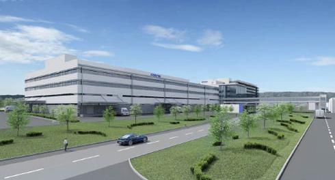 Um novo edifício abrigará departamentos de pesquisa, vendas e impressão digital