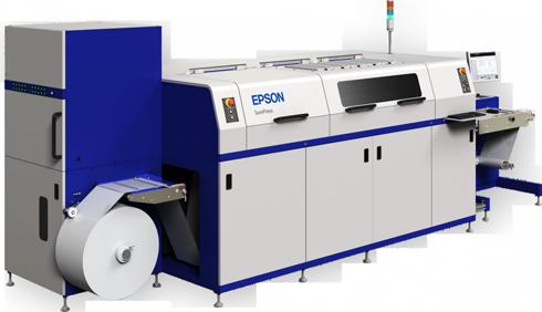 SurePress L-4533 emprega tintas à base d'água