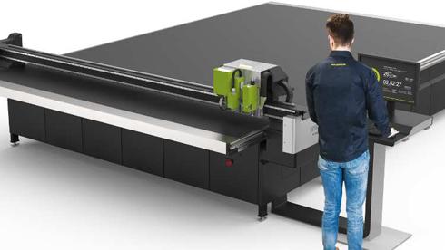 Equipamento conta com área de produção de 210mm × 4.800mm