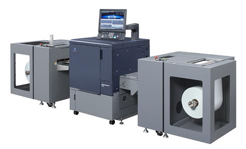bizhub PRESS C71cf é novo modelo de impressora digital de rótulos e etiquetas