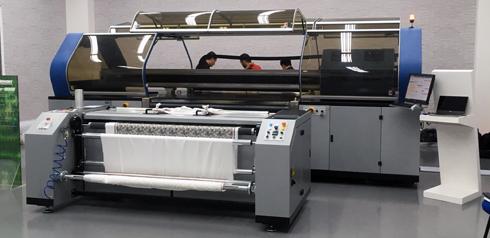 Equipamento é indicado para estamparias e indústrias têxteis