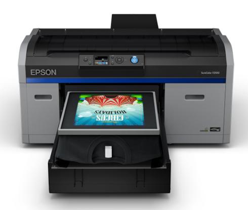 SureColor F2100 faz parte da nova geração de equipamentos Epson de impressão direta em camisetas