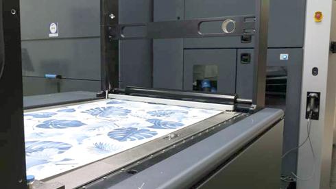 HP Indigo 20000 Digital Press Wallpaper é indicada para produções em massa
