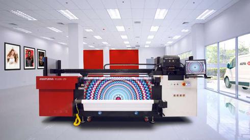 Máquina é equipada com tecnologia UV LED