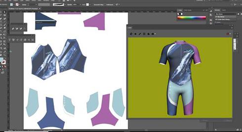 3D Design Illustrator agiliza o fluxo de trabalho de criação de vestuário