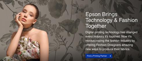 Página foi criada para mostrar a interação entre moda e impressão digital