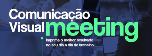 Comunicação Visual Meeting ocorre no dia 1º de março