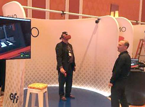 Visitantes poderão interagir virtualmente com as impressoras EFI Nozomi C18000 e HS125 Pro