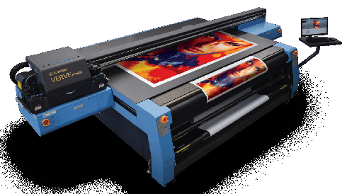 Verve Hybrid é impressora UV LED com sistema plano
