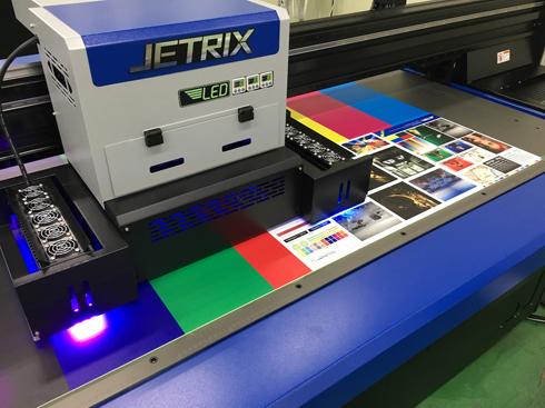 Impressora emprega recurso de cura UV LED