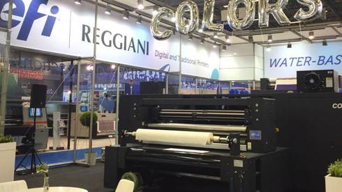 Reggiani Colors é a quarta impressora têxtil lançada pela EFI