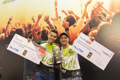 Envelopadores campeões são de Fortaleza e também venceram o Cambea Nordeste