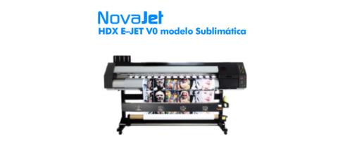 Novajet HDX tem 1,6m de largura