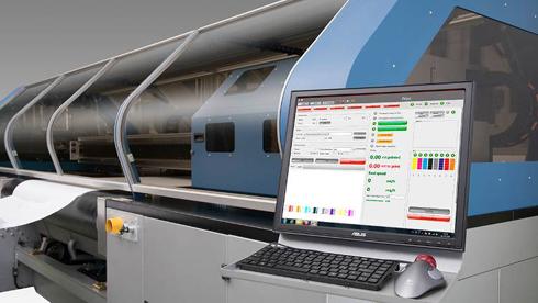 Impressora é capaz de imprimir na velocidade de 385m²/h