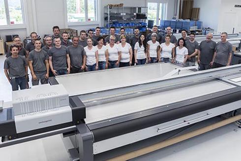 A milésima impressora foi enviada para um cliente na França