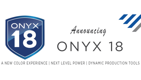 Onyx 18 inclui novas ferramentas para reprodução de cores consistente em grandes formatos