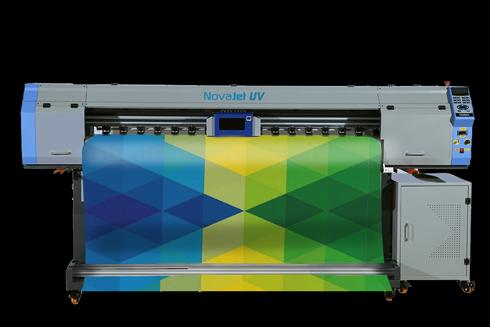 Novajet UV T1804 GH é indicada para impressão de mídias flexíveis