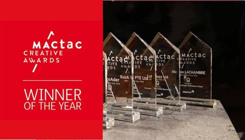 Conheça dos campeões das seis categorias do Mactac Creative Awards