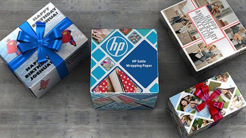 Material é compatível com impressoras da HP