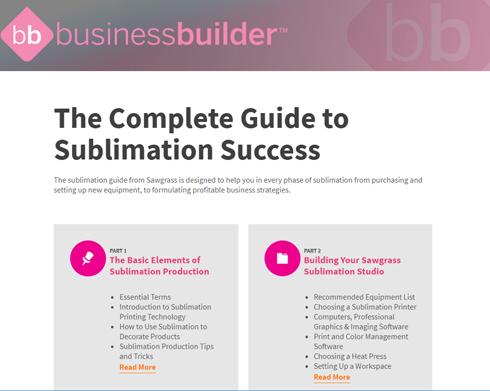 Fabricante atualizou documento que tem informações essenciais sobre sublimação