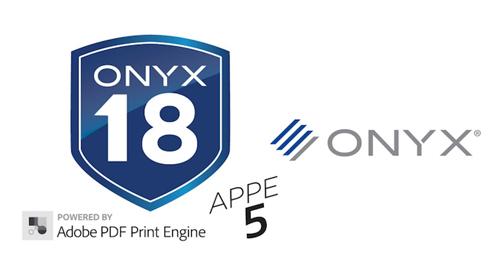 Onyx 18.5 é a primeira solução com APPE 5 para impressão de grande formato