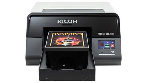Ricoh Ri 1000 é a mais nova adição de impressora DTG ao portfólio da Anajet