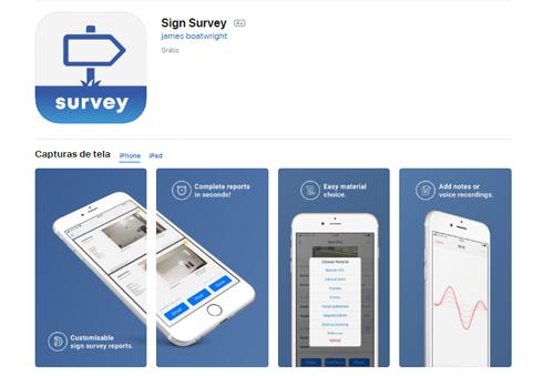 Sign Surveys reúne informações sobre clientes e trabalhos realizados por birôs