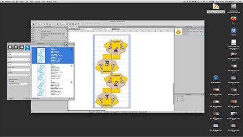 Entre as principais ferramentas do aplicativo estão o Dynamic Tiling e o Image Tracing