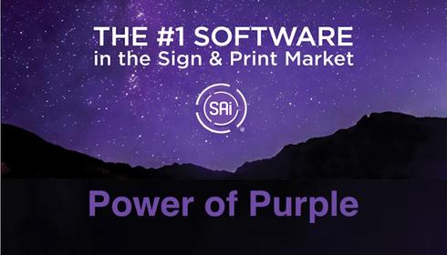 Púrpura é a nova cor que identificará a marca
