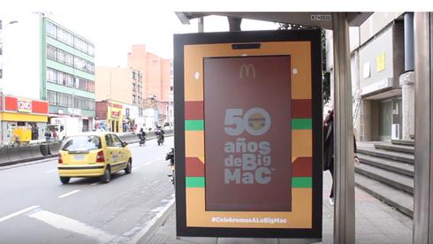 Ação instigou público a dançar e ganhar Big Macs