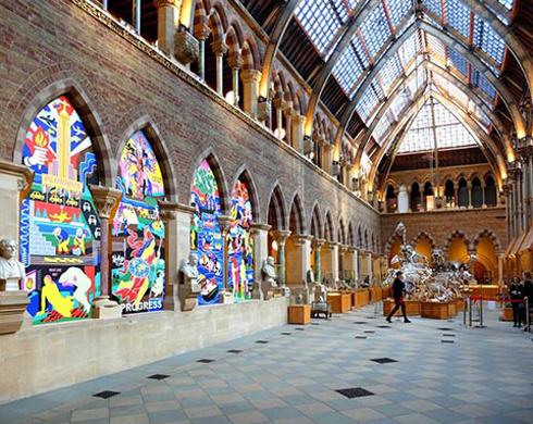 Exposição foi sediada em museu britânico