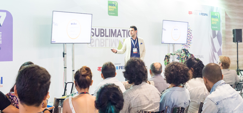 Evento contará com a participação de especialista de estamparia têxtil digital