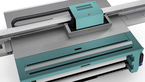 Dois modelos compõem a nova série de máquinas planas