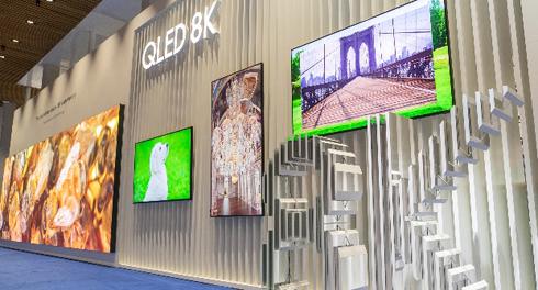 Entre as novidades da fabricante estão o The Wall em 8K e a tecnologia 8K HDR