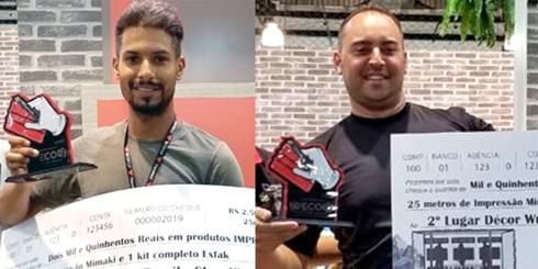 Thiago Amorim e Jefferson Pimenta foram os participantes de melhor desempenho na primeira etapa do concurso
