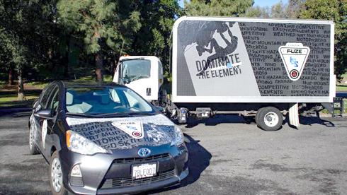 Mídia é indicada especificamente para quem trabalha com envelopamento de carros