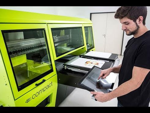 Aeoon desenvolve equipamentos de impressão direta em camisetas