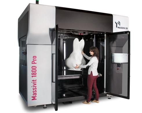Impressora 3D de grande formato vem com novos recursos de produção