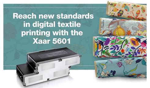 Dispositivo pode ser empregado em impressoras digitais que estampam tecidos