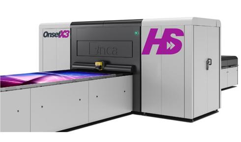 Onset X2 HS e Onset X3 HS são UV planas de alta produtividade
