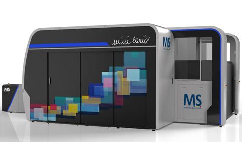 Máquina emprega 64 cabeças de impressão